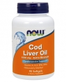NOW Cod Liver Oil 1000 mg, 90 кап