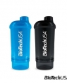 BioTech USA Shaker Wave + Compact (500ml + 150ml)