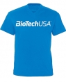 BioTech USA Футболка T-Shirt for men Tropical Blue