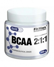 FitMax Base BCAA 2:1:1, 200 гр