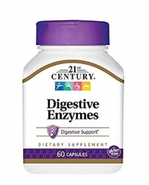 21st Century Digestive Enzymes 60 кап