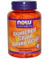 NOW Branched Chain Amino Acids, 120 кап