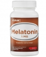 GNC Melatonin 1 mg, 60 таб