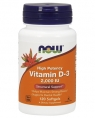 NOW Vitamin D-3 2,000 IU, 120 кап