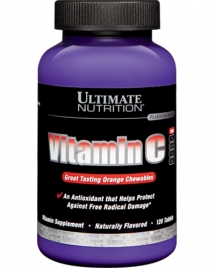 Ultimate Nutrition Vitamin C Chews Orange 500 mg, 120 таб