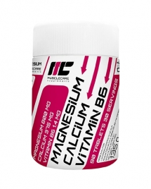 Muscle Care Magnesium Calcium Vitamine B6, 90 таб