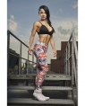 Extrifit Лосины Leggings Orange+Grey