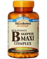 Sundown Naturals B Complex Super Maxi, 100 таб