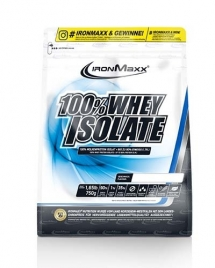 IronMaxx 100% Whey Isolate, 750 гр