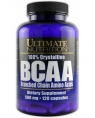 Ultimate Nutrition 100% Crystalline BCAA 500 mg, 120 кап