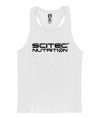 Scitec Nutrition Майка-борцовка Vest Racerback White