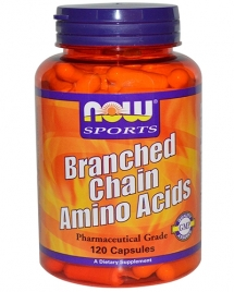 NOW Branched Chain Amino Acids, 60 кап