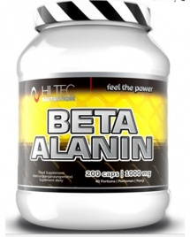 Hi Tec Nutrition Beta Alanin, 200 кап