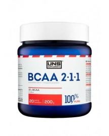 UNS BCAA 2:1:1 Instant, 250 гр (25 пор)