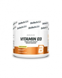 BioTech USA Vitamin D3 Powder 150 гр