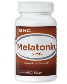 GNC Melatonin 5 mg, 60 таб