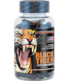 Cloma Pharma Black Tiger, 100 кап