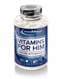 IronMaxx Vitamins for Him, 100 кап
