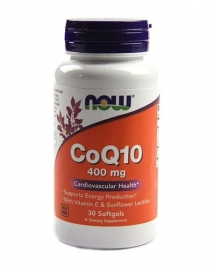 NOW CoQ10 400 mg, 30 кап