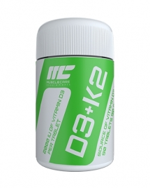 Muscle Care D3K2, 90 таб