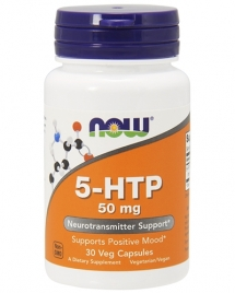 NOW 5-HTP 50 mg, 30 кап