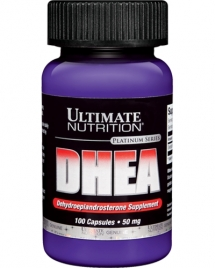 Ultimate Nutrition DHEA 50 mg, 100 кап