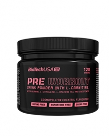 BioTech USA For Her Pre Workout, 120 гр (30 порций)