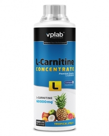 VP Lab L-Carnitine Concentrate 60.000, 500 мл