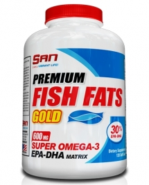 S.A.N. Premium Fish Fats Gold, 60 кап