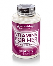 IronMaxx Vitamins for Her, 150 кап