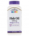21st Century Fish Oil 1200 mg, 90 кап