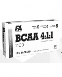 Fitness Authority BCAA 4:1:1 1100, 120 таб
