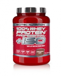 Scitec Nutrition 100% Whey Protein Professional + ISO, 870 гр