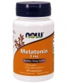 NOW Melatonin 3 mg, 180 жев. таб