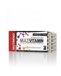 Nutrend Multivitamin Compressed Caps, 60 кап