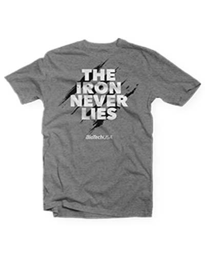 0ac342790ec17 BioTech USA Футболка T-Shirt The Iron Never Lies купить ▷ низкая ...
